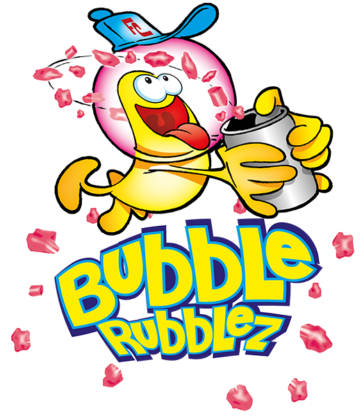 Logo Bubble Rubblez