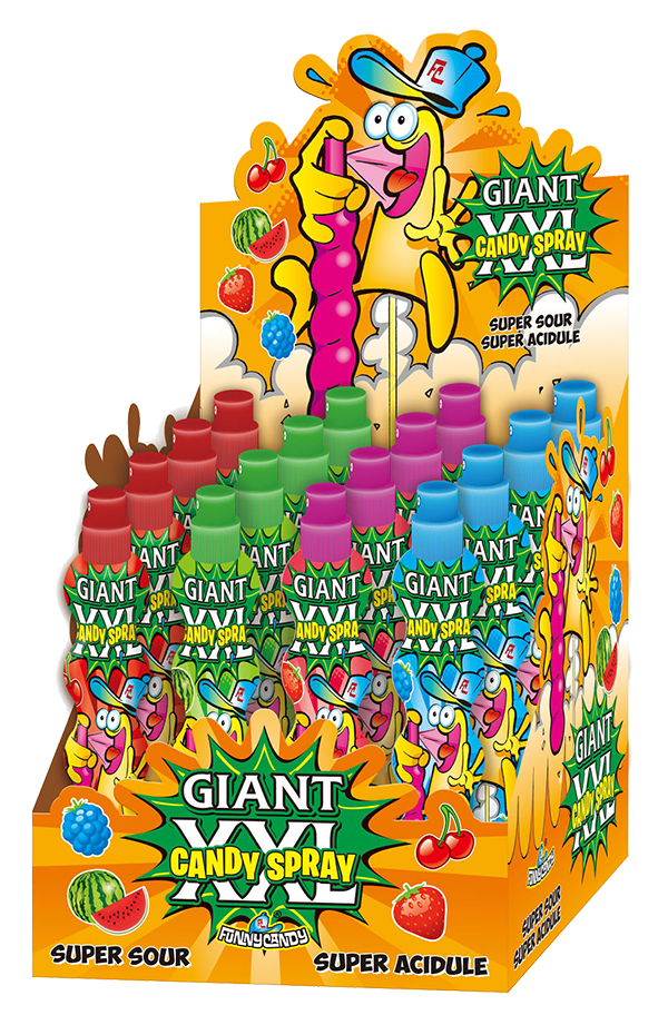 display Giant Spray XXL