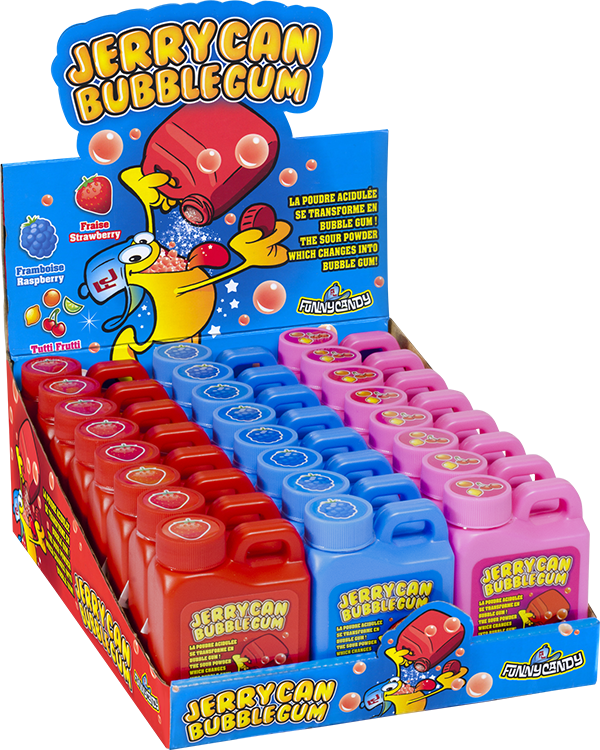 display Jerrycan Bubble Gum