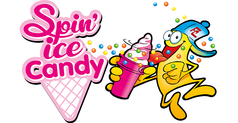 Logo Spin Ice Candy