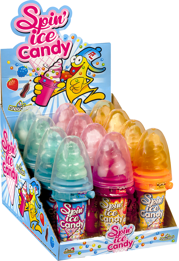 display Spin Ice Candy