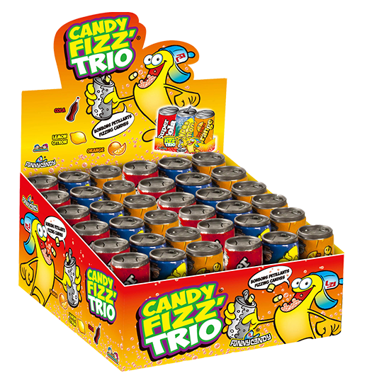candy fizz trio