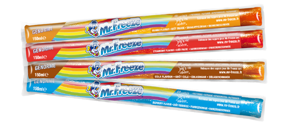 Bâtonnets Mr freeze genorme assorti