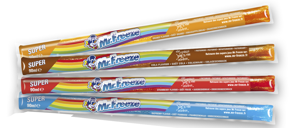 Bâtonnets Mr freeze Super Assortis 90ml